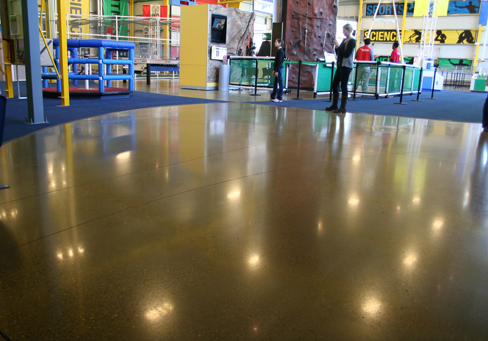 Concrete Polished Floor Polished Concrete Pittsburgh